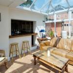 Sherbourne Hotel conservatory